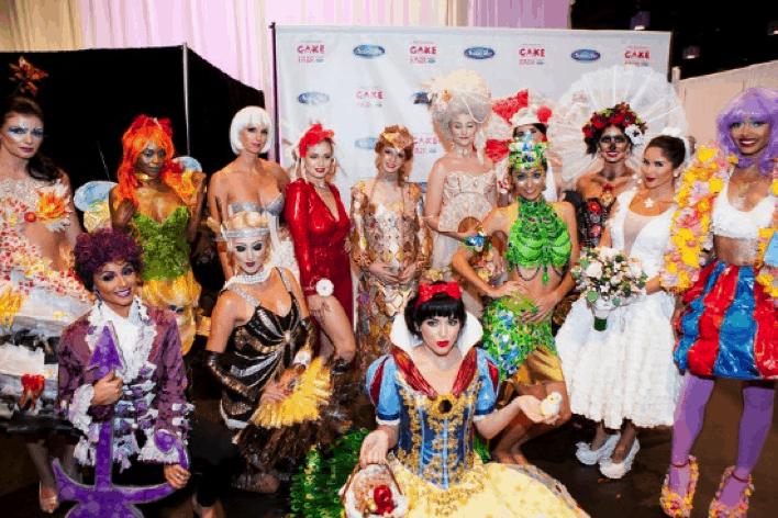 Sugar Art Fashion Show